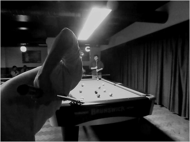 Jogatana de snooker no Bola de Prata
