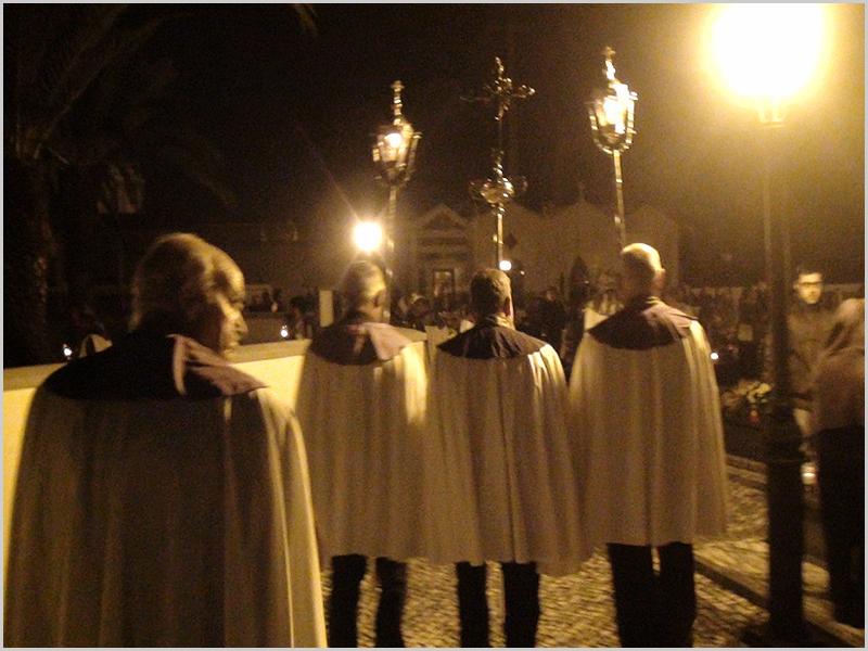 Irmandade das Almas durante um funeral