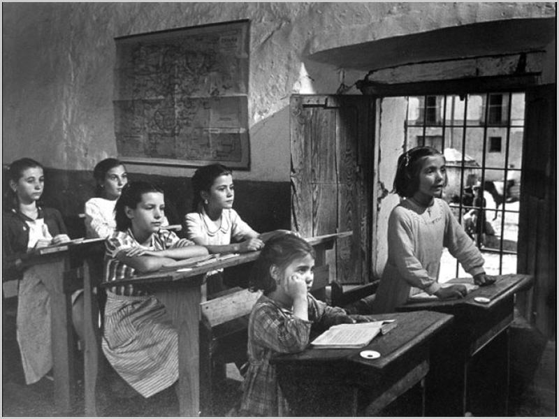 Escola primária no século passado