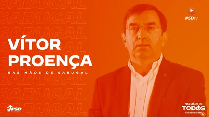 Vítor Proença - Candidato do PSD à Câmara Municipal do Sabugal - Autárquicas 2021