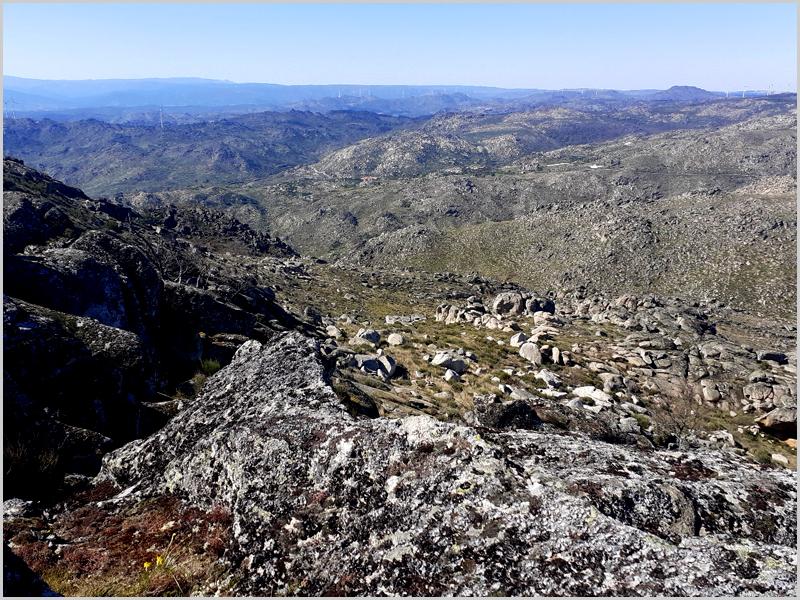 Montanhas do território pertencente ao antigo concelho de Sortelha