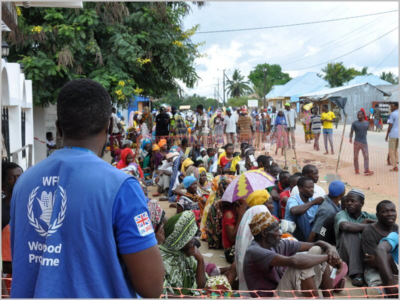 Tragédia humanitária em Palma (Cabo Delgado)