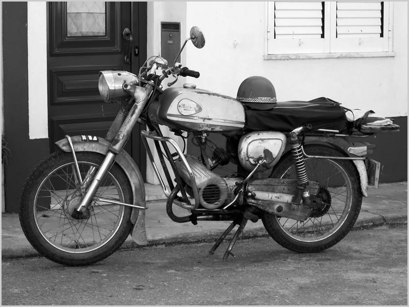A motorizada do Marito que partiu já vão mais de vinte anos