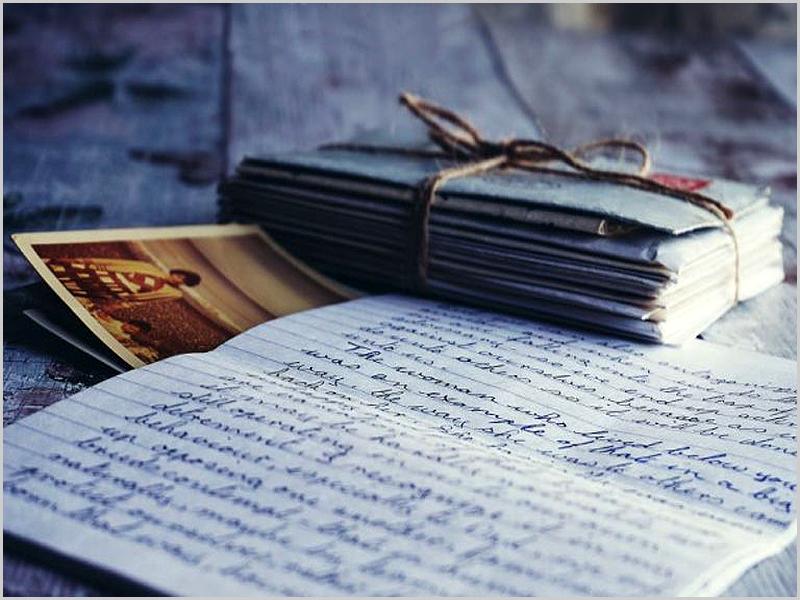 As cartas dos emigrantes eram sempre esperadas com muita impaciência e amor...