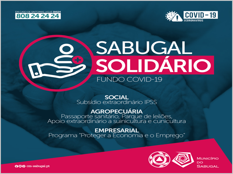 Apoios da CM Sabugal para os sectores: Social, Agropecuário e Empresarial