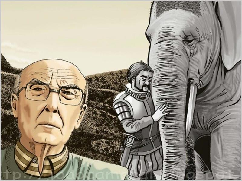Guarda na «Viagem do Elefante»