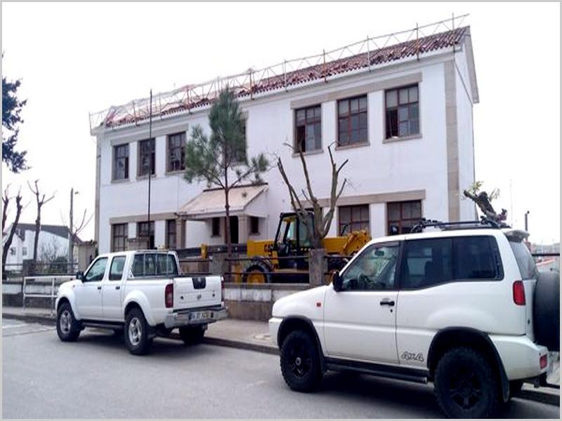 Em obra: incubadora de empresas em Vilar Formoso