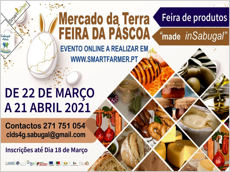 Sabugal: Mercado da Terra on line (até 21 de Abril, ainda)