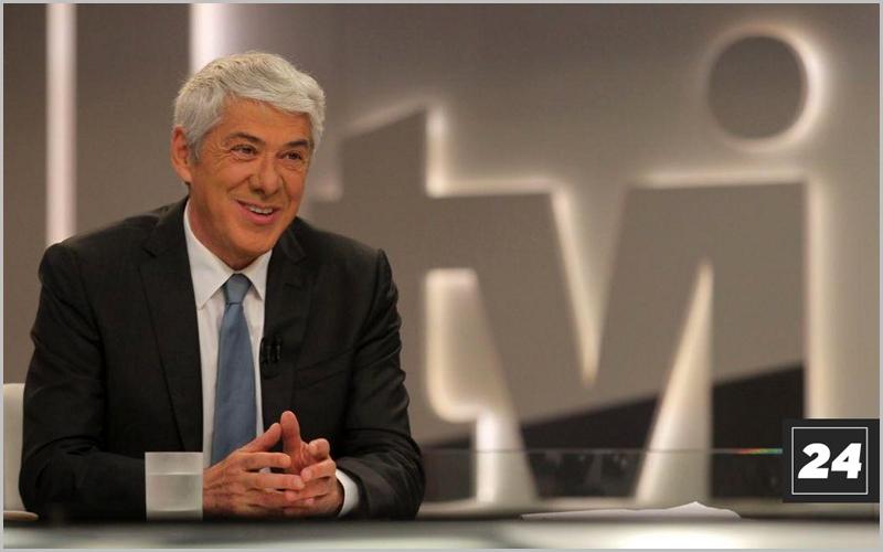 José Sócrates em entrevista na TVI24