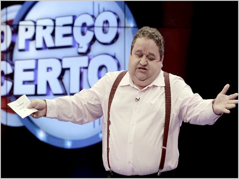 Fernando Mendes no «Preço Certo» (RTP 1)