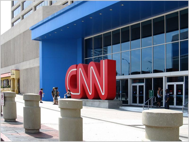 Sede da CNN em Atlanta no estado americano da Geórgia