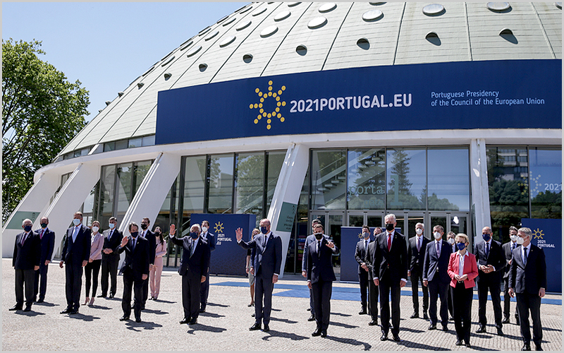 Cimeira Social do Porto da União Europeia (foto: Tiago Petinga/Lusa)