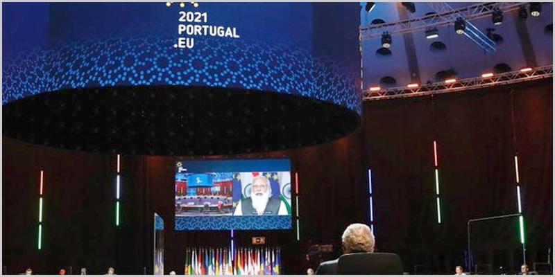 Cimeira virtual União Europeia-Índia no Porto