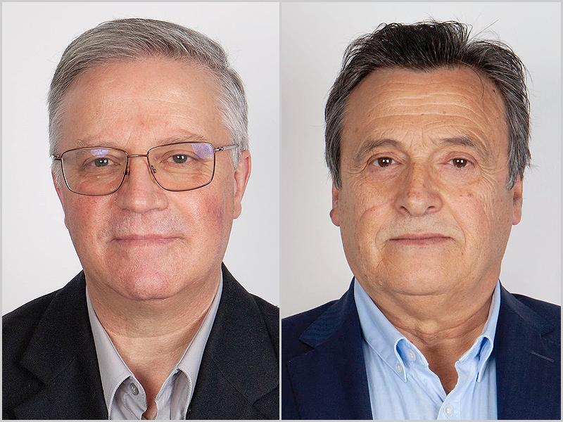 Romeu Bispo e José Escada da Costa - candidatos do CDS-PP à Câmara Municipal do Sabugal