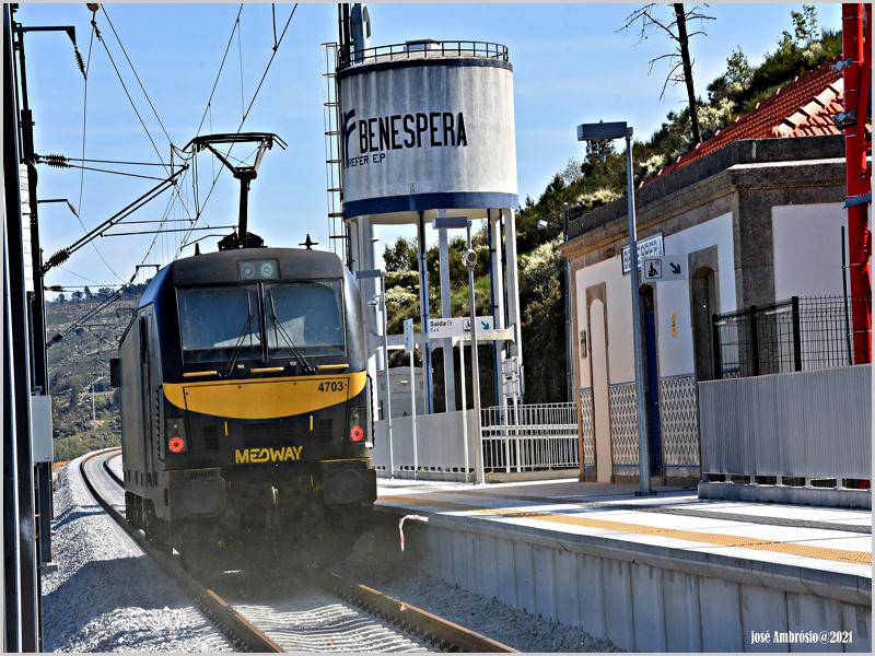 Requalificação da via férrea da Beixa Baixa (foto: José Ambrósio)