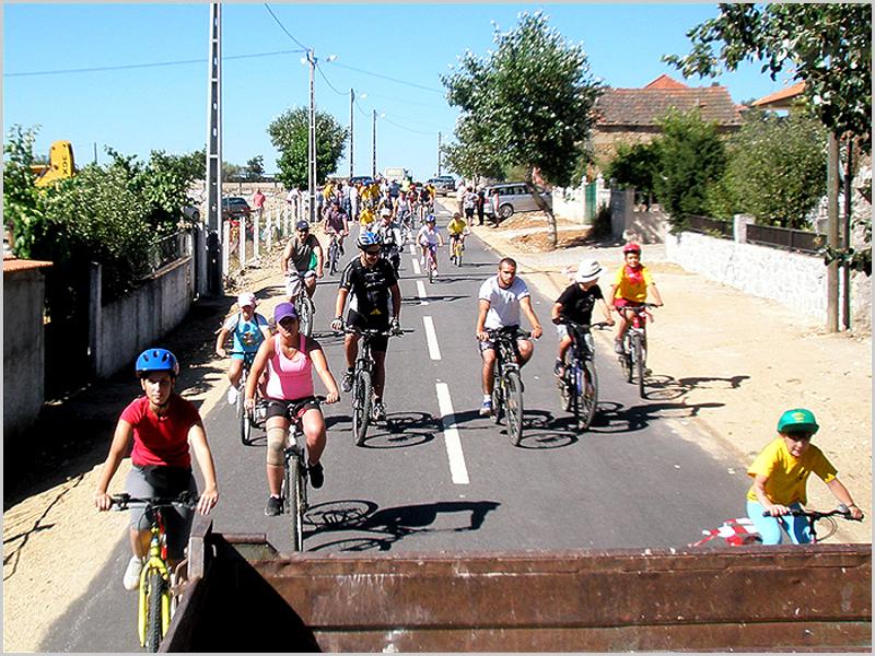 A passear de bicicleta no Concelho do Sabugal