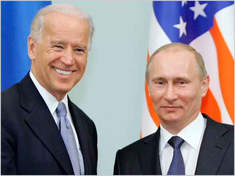Biden e Putin - encontro a dois em Junho