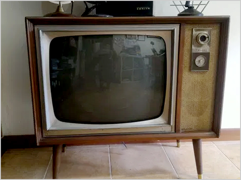 A televisão foi a maior invenção daqueles anos...