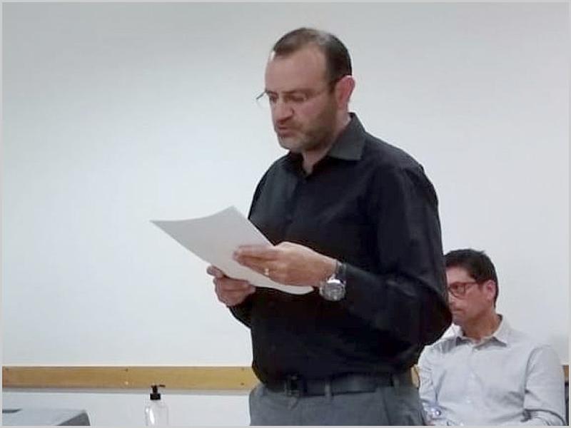 Discurso de tomada de posse de César Cruz, o novo provedor da Santa Casa da Misericórdia do Sabugal