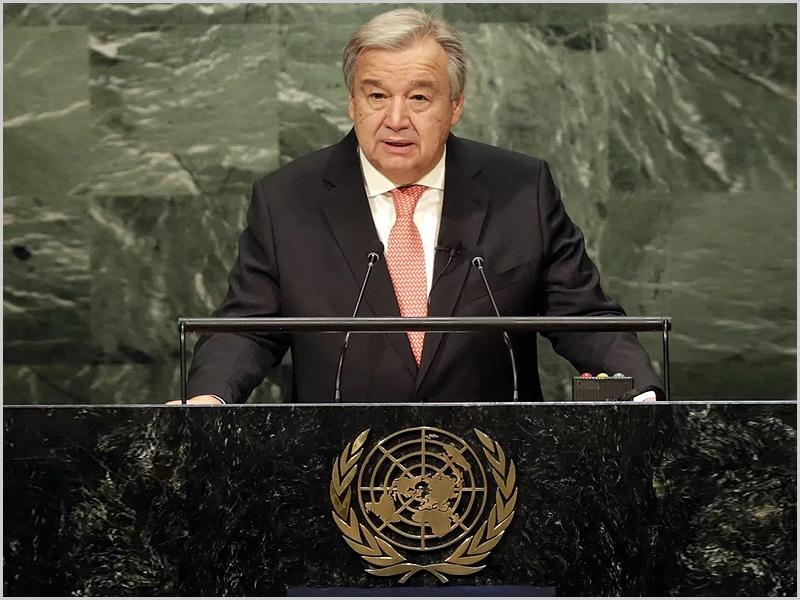 António Guterres - Secretário-Geral da ONU