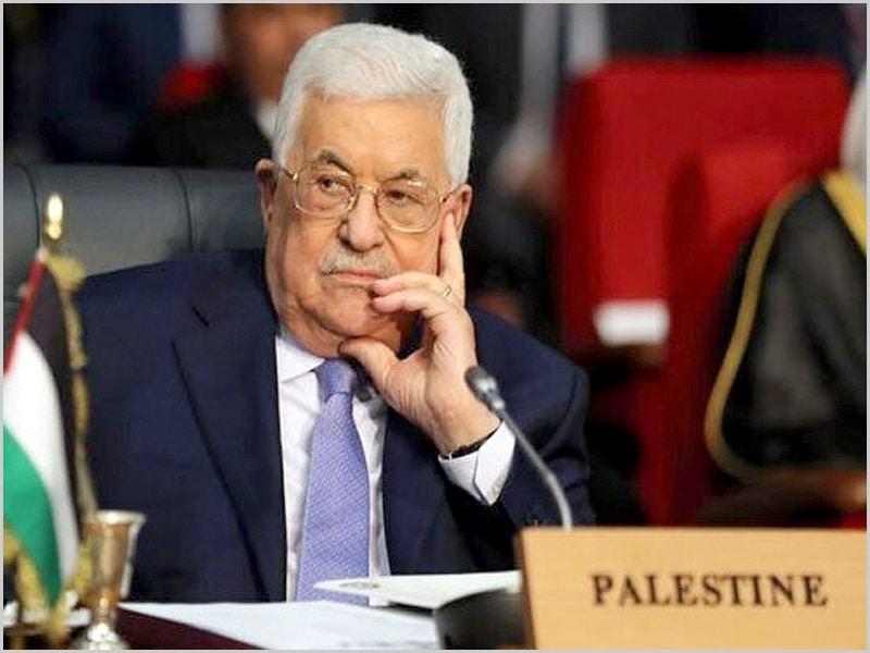 Mahmoud Abbas - presidente da Autoridade Palestiniana
