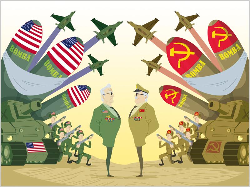 Guerra Fria entre os EUA e a URSS