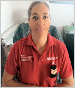 Isabel Pires - Bombeiros Voluntários Sabugal