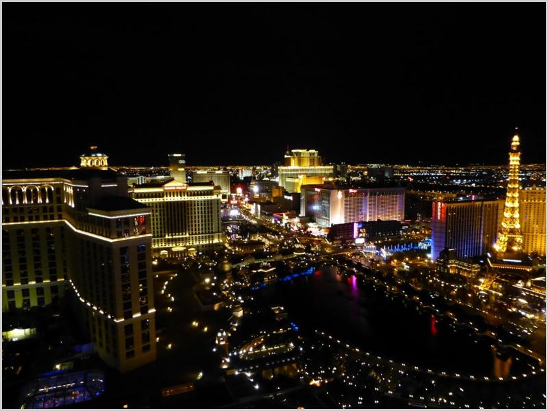 Cidade de Las Vegas à noite