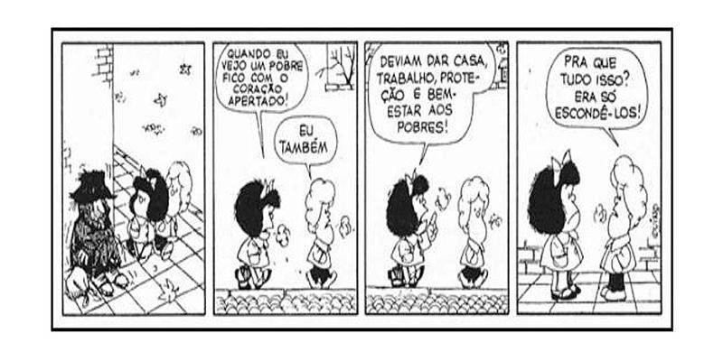 Tira de Mafalda (Quino)