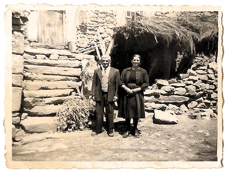 José Augusto Lages e Maria Gonçalves (pais de Manuel, Francisco e Joaquim)