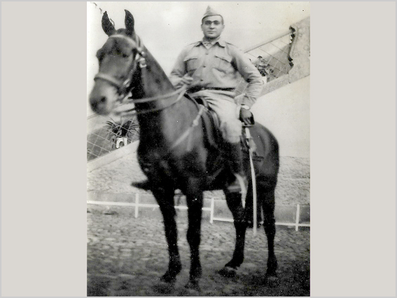 Francisco Lages no Regimento de Cavalaria de Castelo Branco