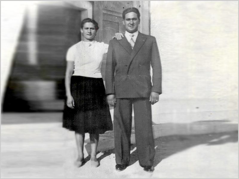 Primeira fotografia de Gracinda e Francisco Lages em Lisboa