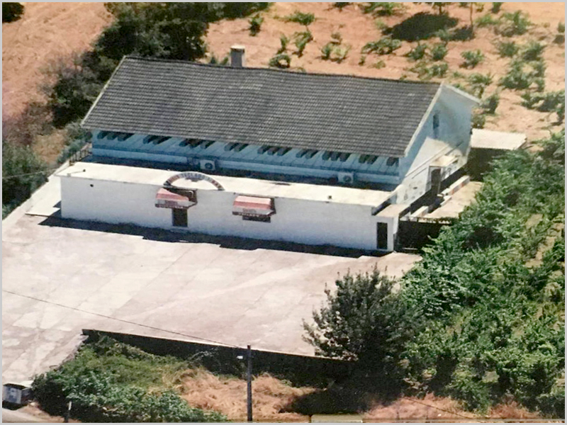 Discoteca Teclado na aldeia da Nave, concelho do Sabugal