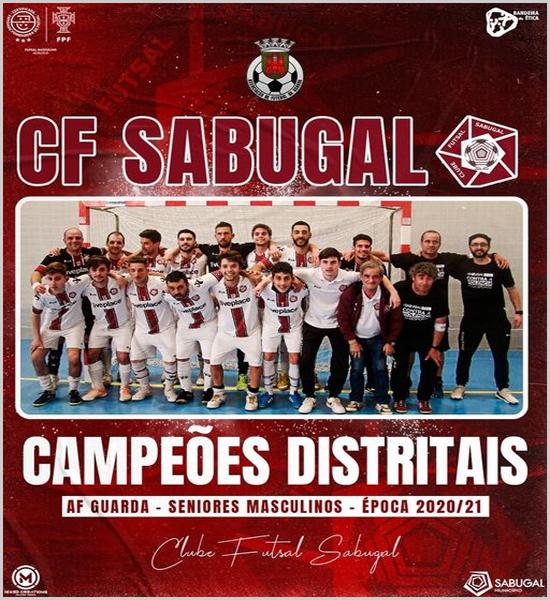 Clube Futsal do Sabugal - Campeão Distrital da Guarda