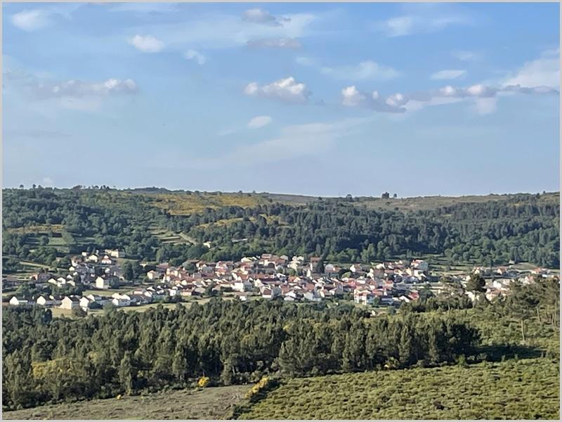 Vista panorâmica de Vale de Espinho