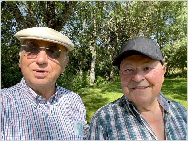 Joaquim Tenreira Martins e José Manuel Campos