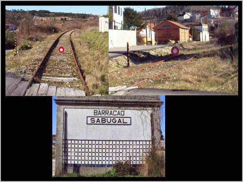 Imagens do abandono da Estação do Barracão-Sabugal na Linha da Beira Baixa