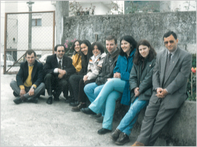 Jornadas de Formação de Catequese em Aldeia de Joanes dirigidas pelo Padre António Manuel Moiteiro Ramos, actual Bispo de Aveiro