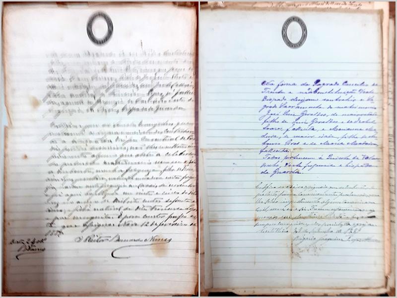 Documento 3: Genoveva e José Pinto