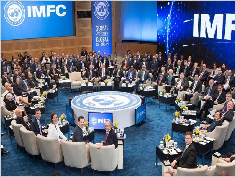 Reunião do FMI-Fundo Monetário Internacional com o Banco Mundial na sede em Washigton (foto: D.R.)