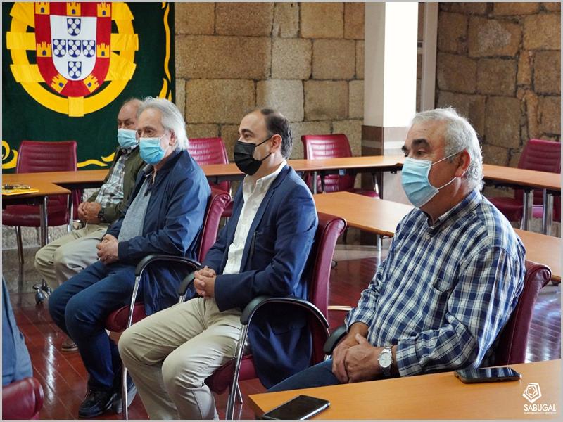 Órgãos sociais eleitos da Casa do Concelho do Sabugal apresentaram-se ao executivo da Câmara Municipal do Sabugal