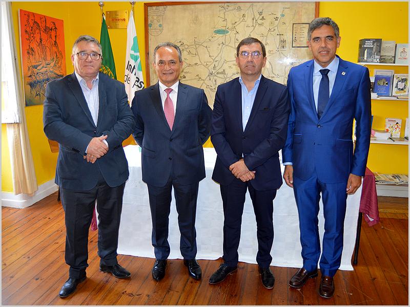 António Robalo, António Laranjo, Vítor Proença e Carlos Monteiro