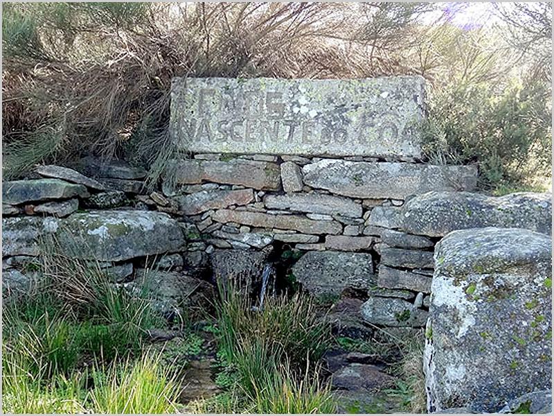 Nascente do rio Côa na freguesia dos Fóios, concelho do Sabugal