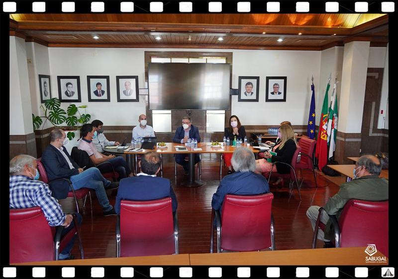 Imagem da Semana - Reunião dos órgãos da Casa do Concelho do Sabugal com o executivo sabugalense