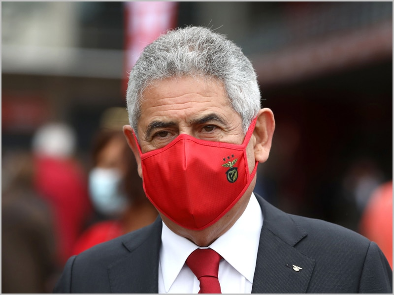 Luís Filipe Vieira – suspendeu o cargo de presidente do Sport Lisboa e Benfica (foto: D.R.)