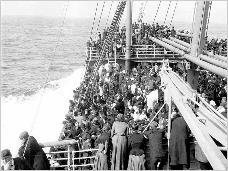 Emigraram também para a América Latina