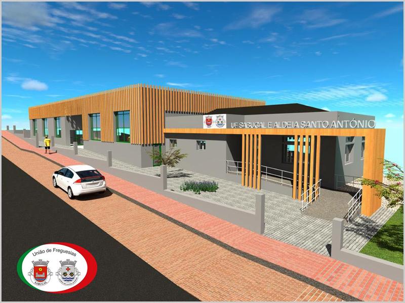 Obras de rejuvenescimento do edifício-sede da União de Freguesias do Sabugal e Aldeia de Santo António
