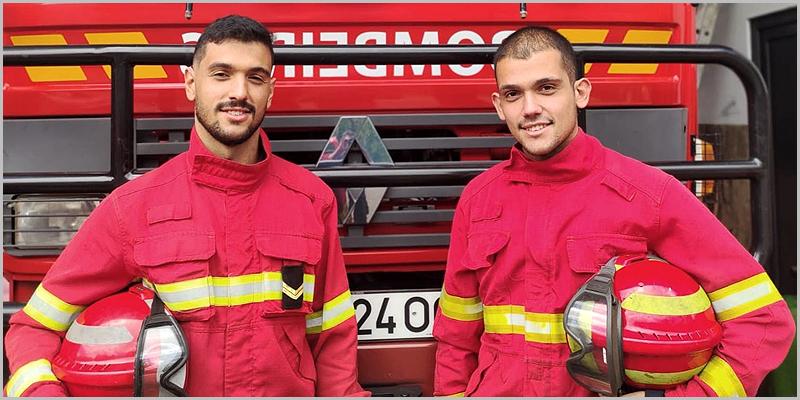 Luís Sanches e António Sanches - Bombeiros Voluntários do Sabugal