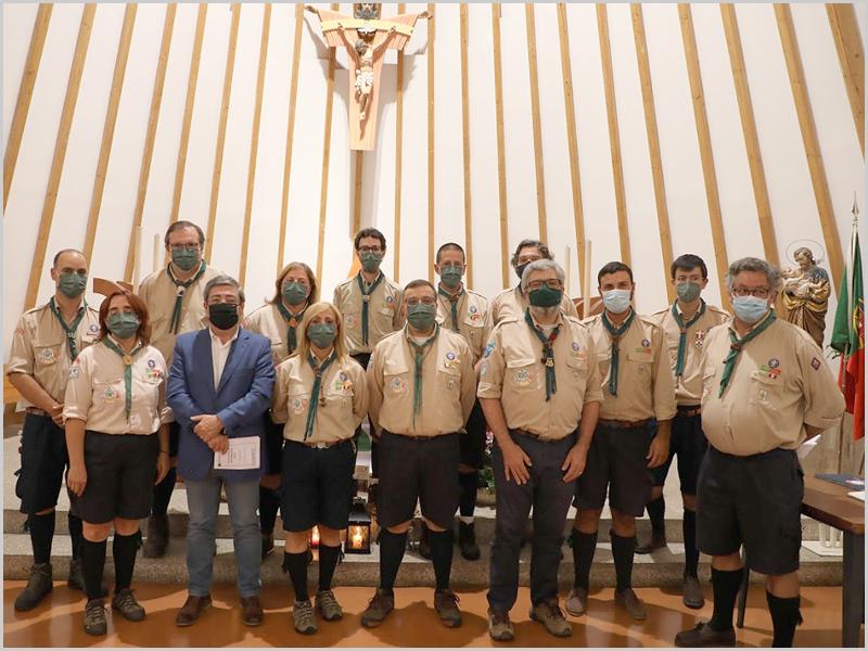 Tomada de posse dos órgãos sociais da Junta Regional da Guarda