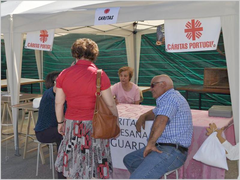 Grupo Paroquial da Aldeia de Joanes-Aldeia Nova do Cabo onde o autor é vice-presidente da Cáritas
